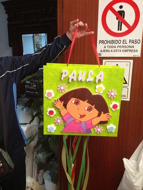 REF.824 Piñata Dora la Exploradora en impresión.