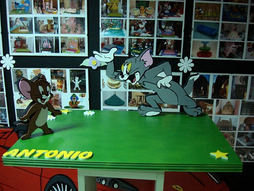 REF.510 Base de tarta Tom y Jerry