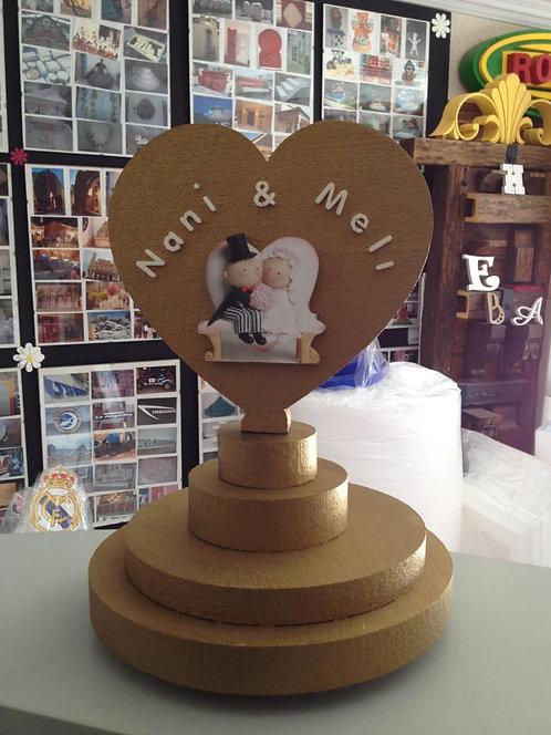 REF.118 Expositor para alfileres detalles de boda
