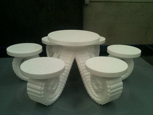 REF. 106 Bases para 7 tartas nupciales