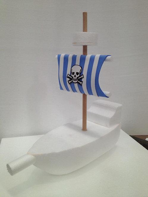 REF.656 Base para gominolas Barco Pirata