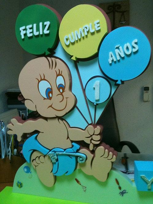 REF.922 Nombres para la pared bebé