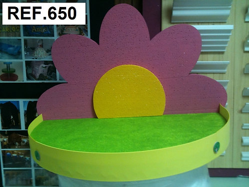 REF. Expositor para gominolas media flor