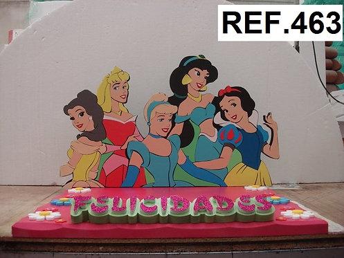 REF. Bases de tartas Princesas Disney