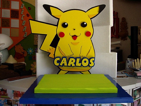 REF.502 Base de tarta Pikachu