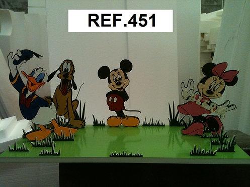 REF. Bases de tartas La Casa de Mickey Mouse II