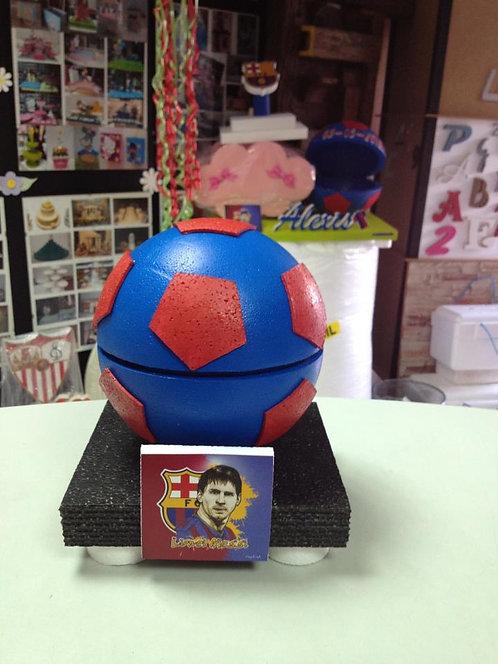 REF.743 Caja para gominolas equipos de fútbol