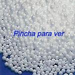 Bolitas corcho, perla poliestireno, bolas eps, relleno puf, bolitas corcho, bolitas porexpan, 15372