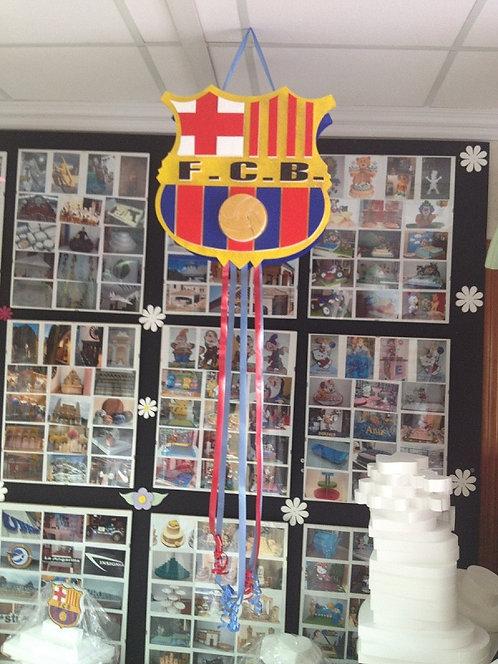 REF.802 Piñata FC Barcelona en relieve