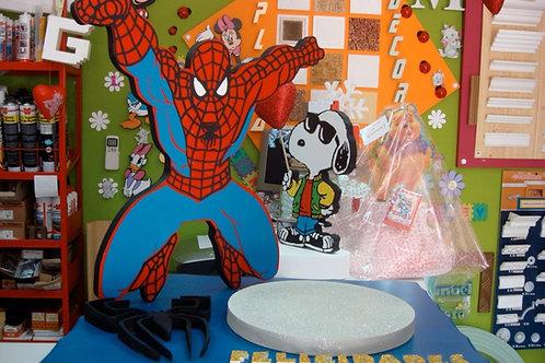 REF.523 Base de tarta Spiderman