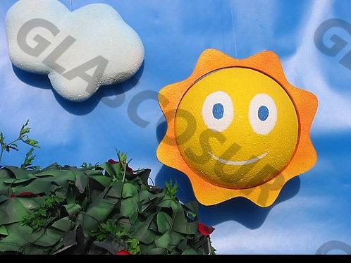 REF.924 Decoración para pared sol y nubes