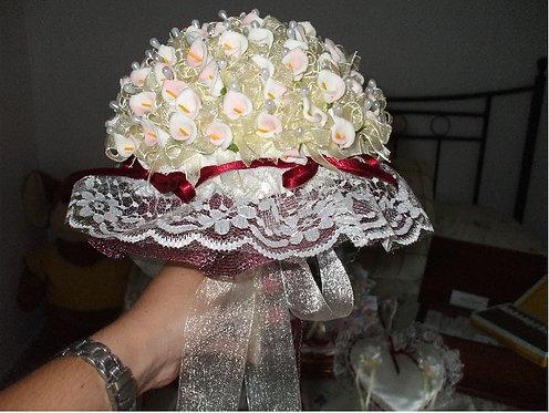 REF.117 Base alfileres de boda con forma de ramo