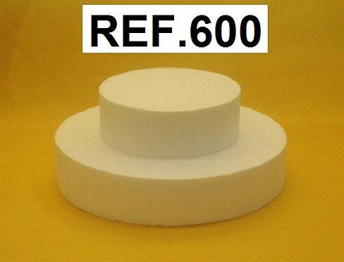 REF. Bases para gominolas con forma circular
