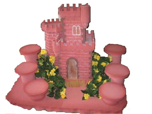 REF.407 Base 6 tartas castillo
