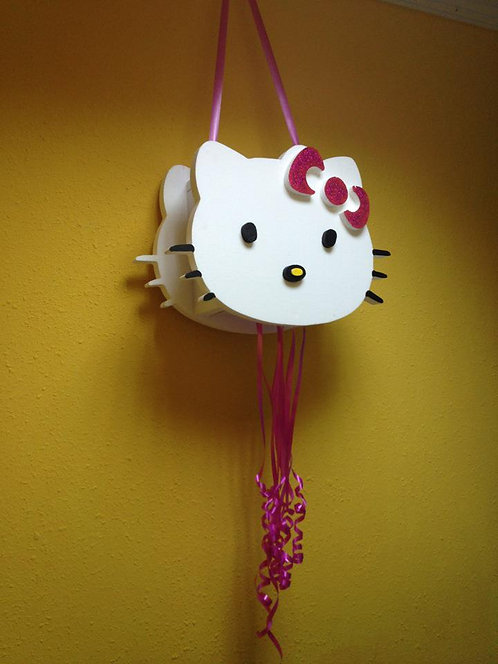 REF.803 Piñata Hello Kitty en relieve