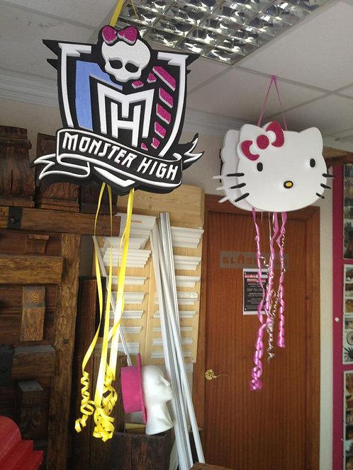 REF.805 Piñata Monster High en relieve
