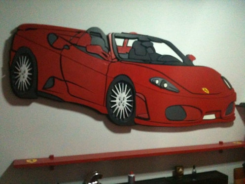 REF.925 Decoración pared Ferrari
