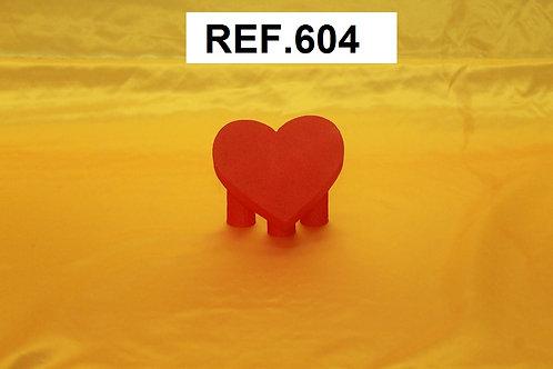 REF. Base para gominolas con forma de corazón