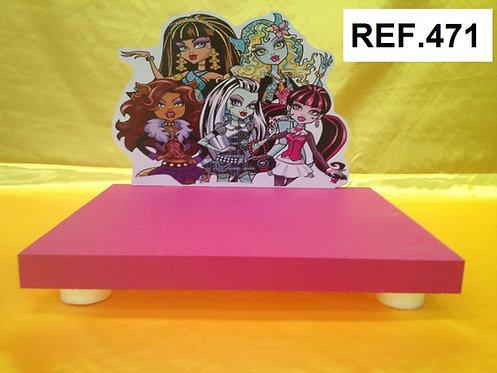REF. Bases de tartas Monster High