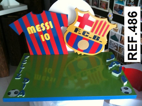 REF. Bases de tartas Equipos de Fútbol II