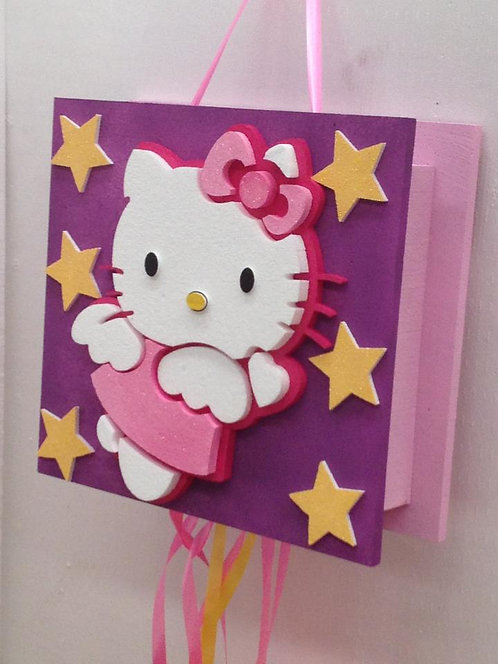 REF.817 Piñata Hello Kitty en relieve