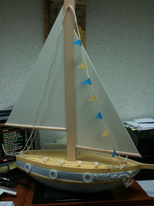 REF.926 Barco velero con nombre
