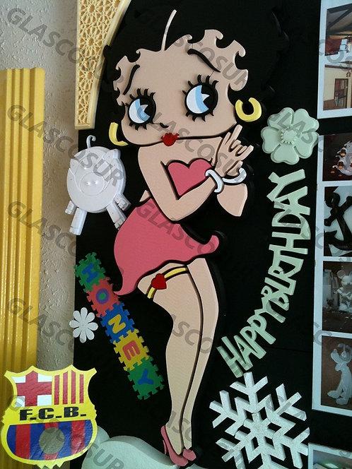 REF.913 Personajes para la pared Betty Boop