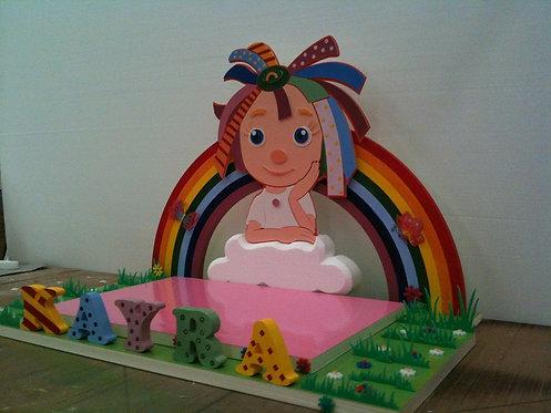 REF.520 base de tarta para niñas
