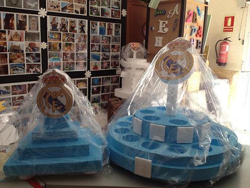 REF.740 Pack bases para gominolas equipos fútbol