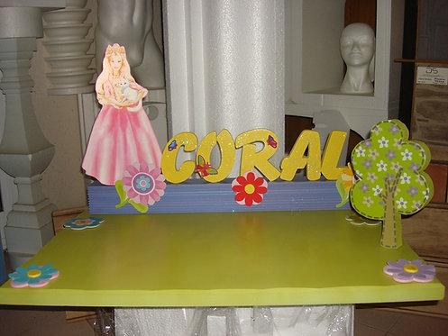 REF.518 Base de tarta Princesa
