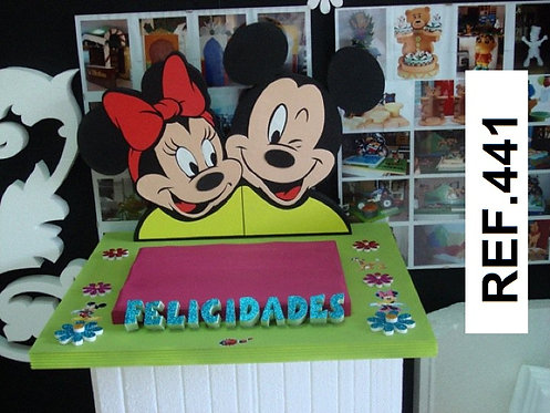 REF. Bases de tartas La Casa de Mickey Mouse I