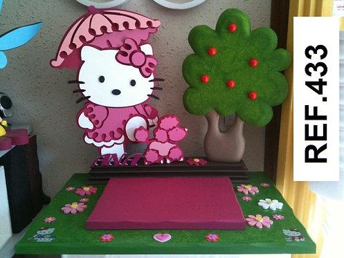 REF. Bases de tartas Hello Kitty