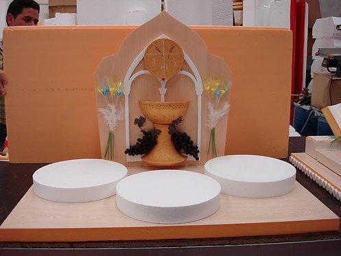 REF.331 Base para 3 tartas comunión