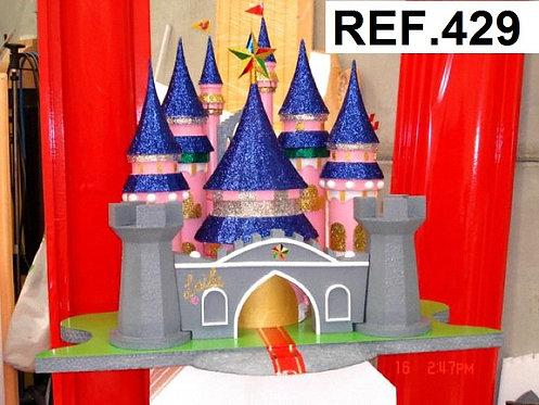REF. Bases de tarta Castillo Princesas