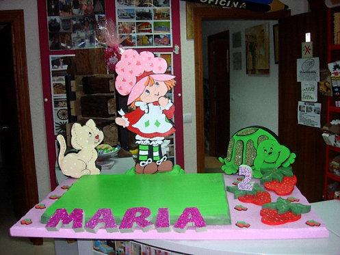 REF.503 Base de tarta Tarta de Fresa