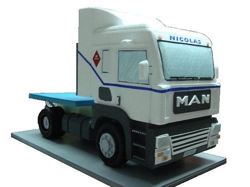REF.405 Base para tarta camión con nombre