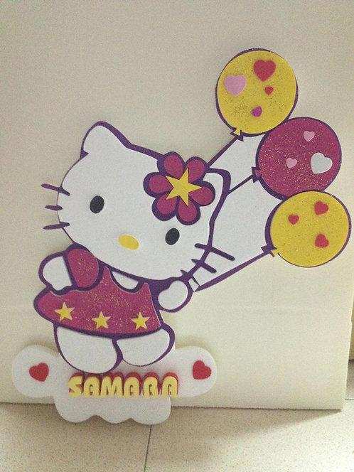 REF.906 Nombres para la pared Hello Kitty