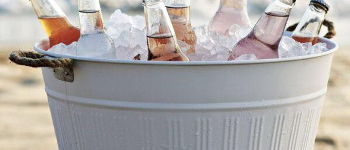GALVANISED ICE BUCKETS