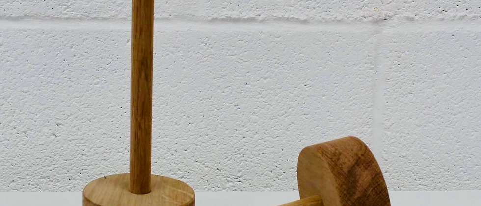 WOODEN TABLE NAME STANDS