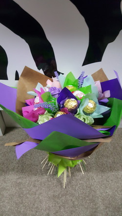 Chocolate Wrapped Bouquet $40