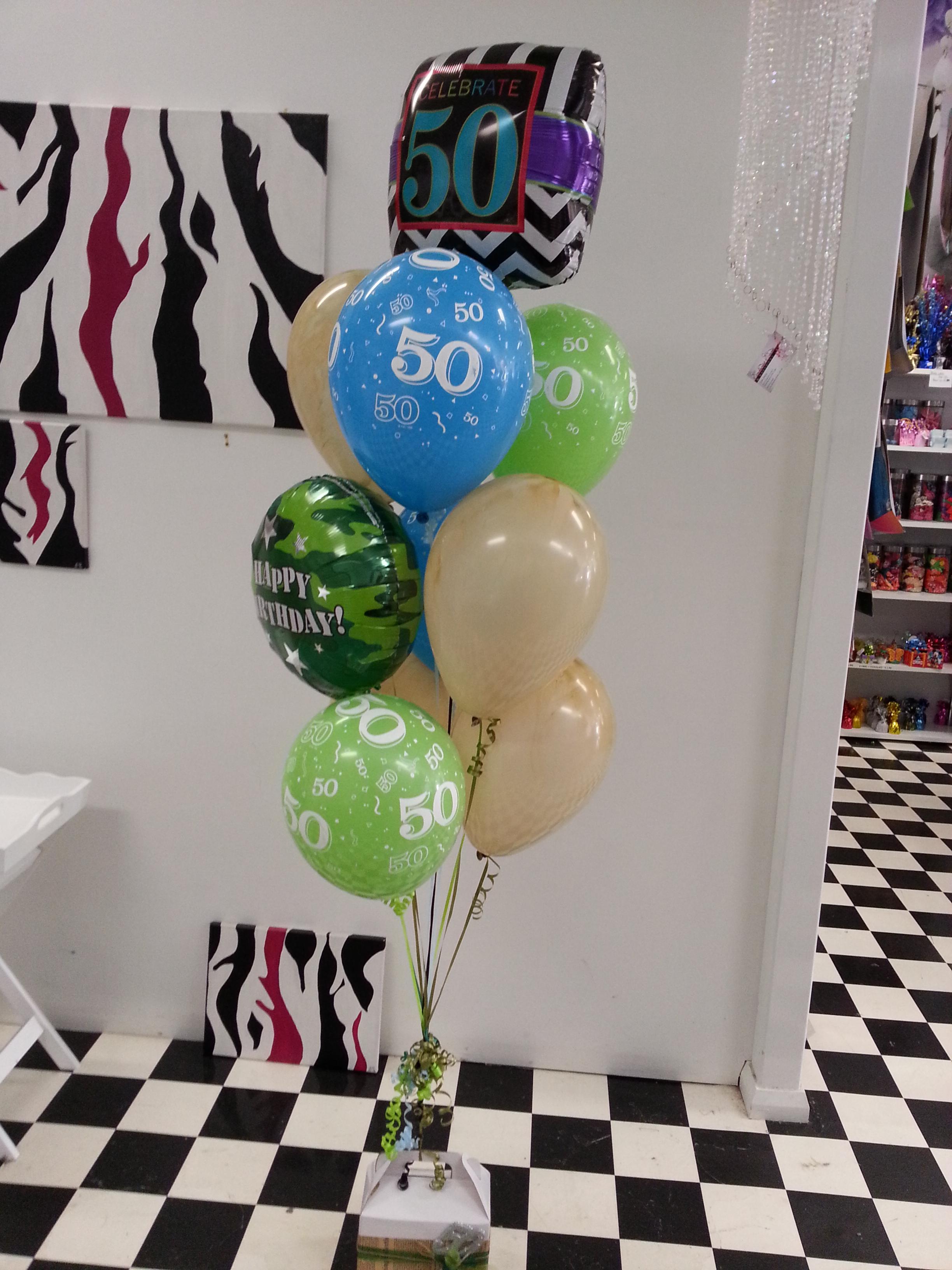 Balloons & Lolly Box $100