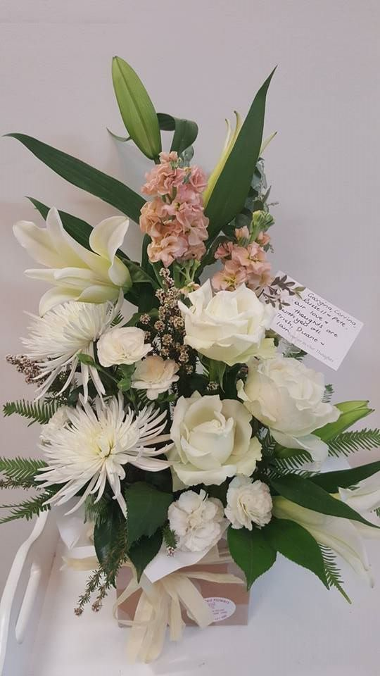 White Arrangement - $70