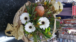 Native Flowers & Lollies Gift Basket $80