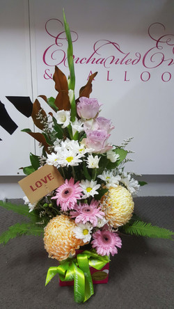 Pastel Tall Arrangement $80