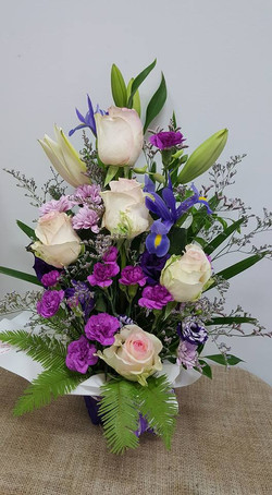 Purple Bouquet $80