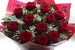 FLOWERS#9 12 Roses $70