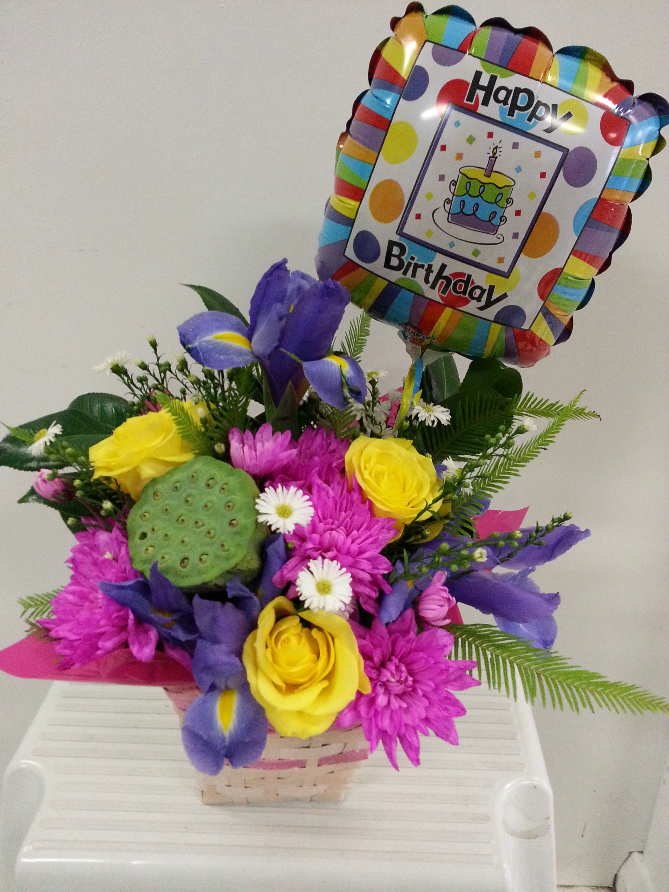 Birthday Posy $45