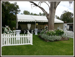 Marquee Decor - Race Day