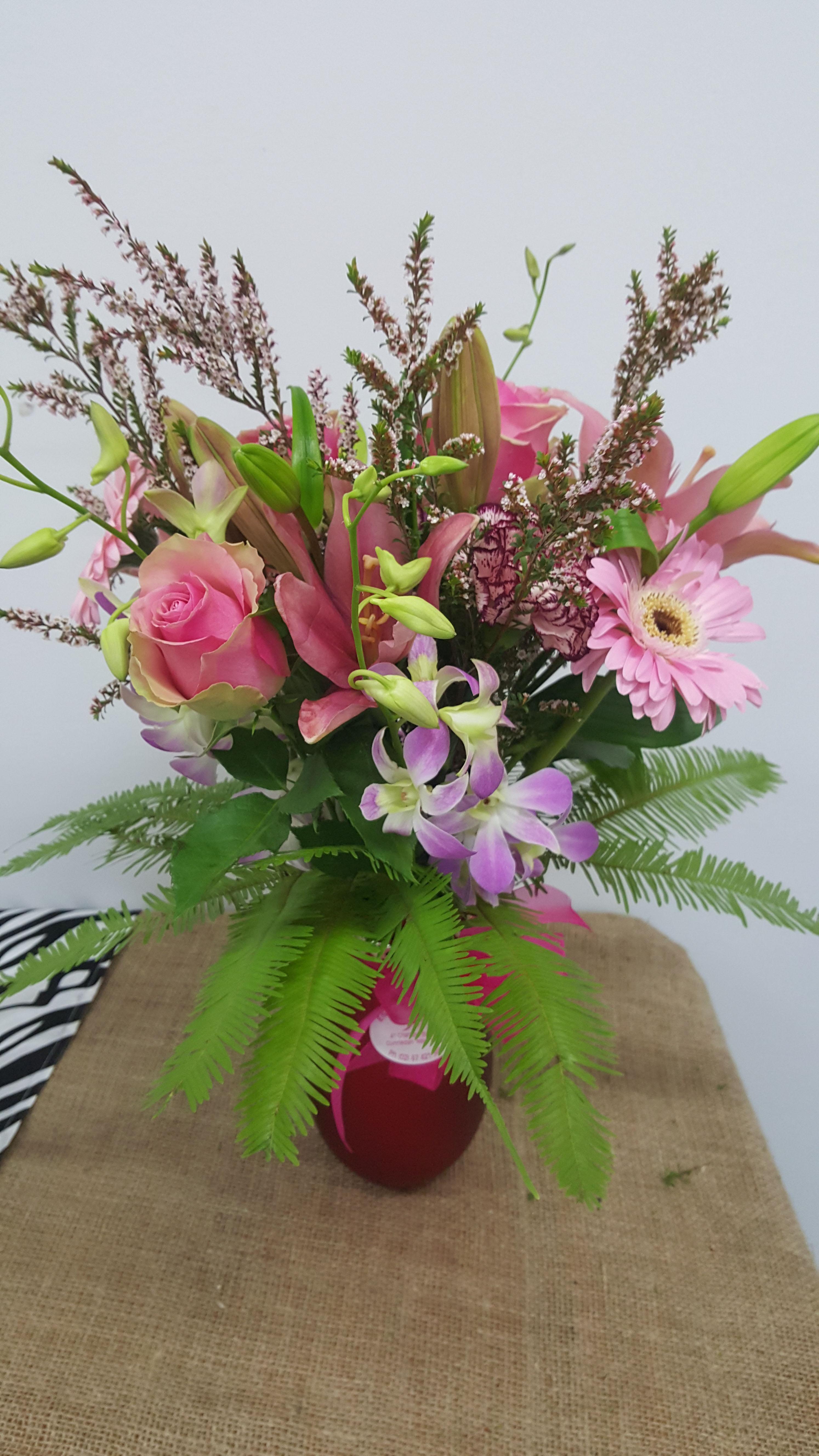 Vase Arrangement $70