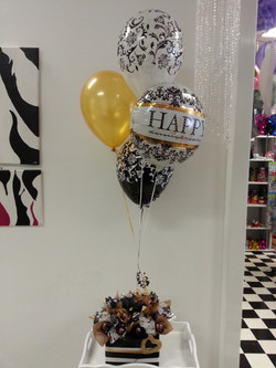 Anniver Bouquet with Lg Chocs $105